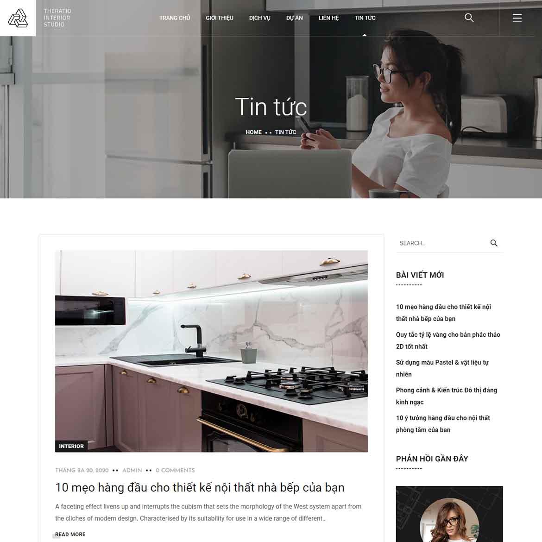 Theratio - Thiết kế xây dựng - Kho giao diện WordPress cao cấp - Chia sẻ  tài liệu, kiến thức và công cụ về WordPress